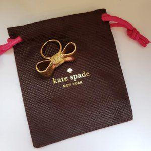 Kate Spade All Wrapped Up Bow Ring